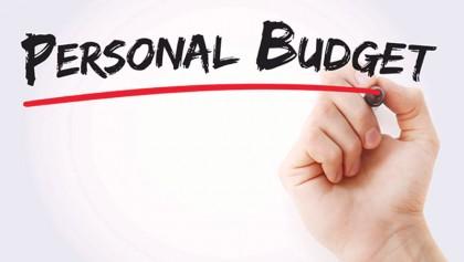 Home budgeting with irregular income