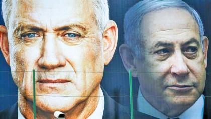 Israel's Netanyahu, Gantz see 'significant progress' toward unity govt