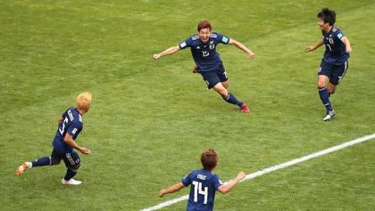 Japan stun 10-man Colombia