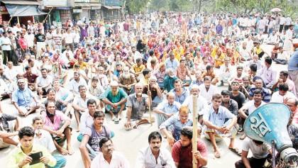 Jute mill workers on 96-hour strike