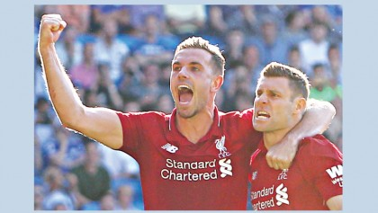 Liverpool on top as ManU, Arsenal slips