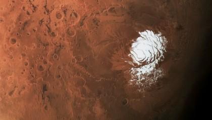 Liquid bodies found under south pole of Mars