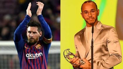 Messi, Hamilton share Laureus World Sportsman of the Year award