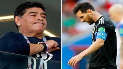 Maradona backtracks on Messi 'toilet' criticism