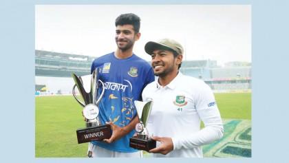 Mushfiq, Nayeem remarkably improve in Test rankings