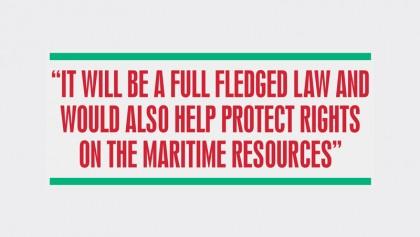 New ocean governance law soon