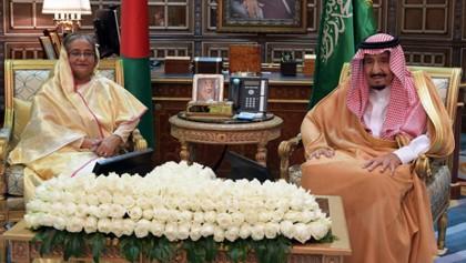 Prime Minister meets Saudi King Salman