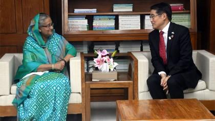 Japan ready to help Bangladesh solving Rohingya crisis