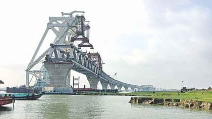 16th span of Padma Bridge installed