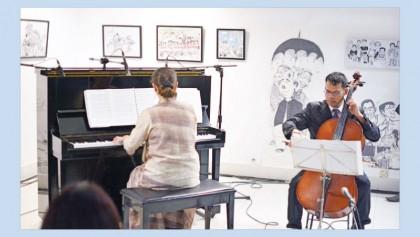 Philip Hazra and Yulia Evdokimova enthrall audiences at AFD