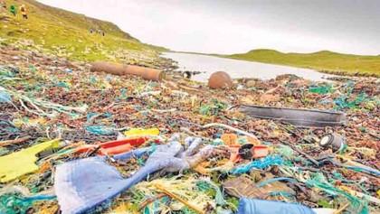 Plastics leading to environmental degradation