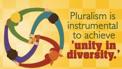 Pluralism must be encouraged