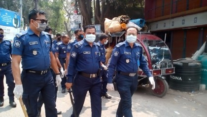 4,868 policemen infected with coronavirus in Bangladesh