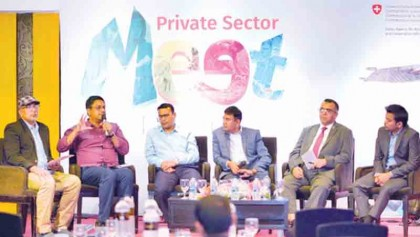 Private sector meets to talk development