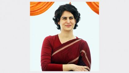 Priyanka formally enters politics