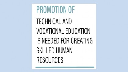 Promoting technical education needed