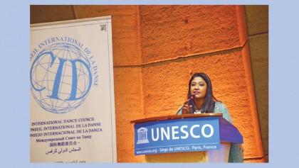 Pooja attends UNESCO International Dance Council