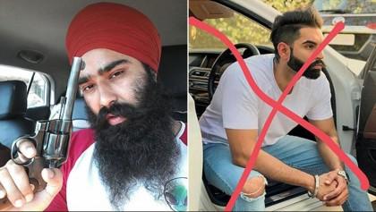 Gangster brags on facebook after shooting Punjabi singer