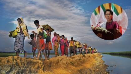 Aung San Suu Kyi asked to secure Rohingya repatriation