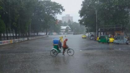 Met office forecast rain in 5 divisions