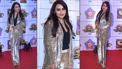 Umang 2020: Rani Mukerji shone in gold