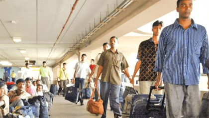 Returning workers  from KSA