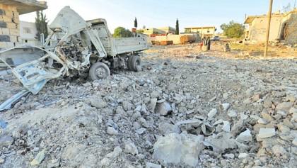Russia air strikes kill 10 civilians: Monitor