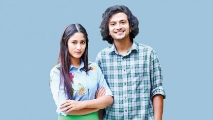 Safa and Rohan in romantic web series