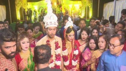 Soumya Sarkar gets married