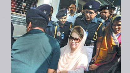 'Ailing' Khaleda sent back to jail in Niko graft case