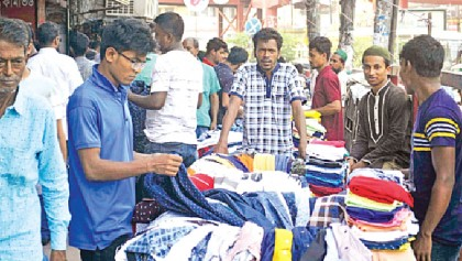 Street vendors' business booms ahead of Eid