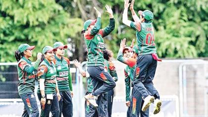 Sanjida, Nahida shine as Tigresses down Sri Lanka