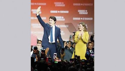 Trudeau to form minority govt