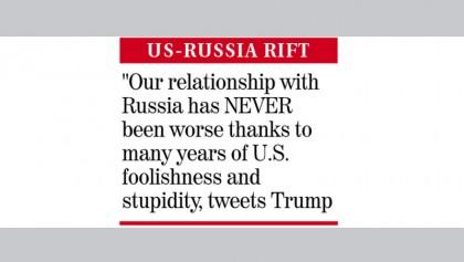 Trump blames US probe