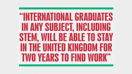UK unveils new immigration route for int'l students
