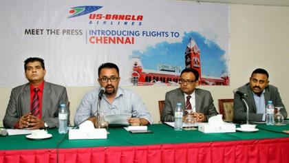 US-Bangla starts flight to Chennai from March 31