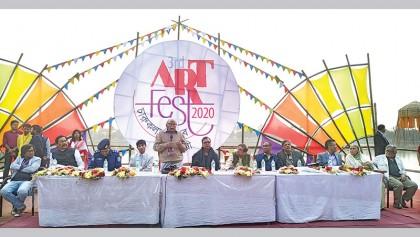 Four-day art event underway