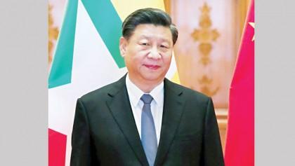Xi stands beside Myanmar despite Rohingya 'genocide'