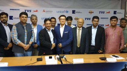 TVS becomes official sponsor of Bangladesh Football Team