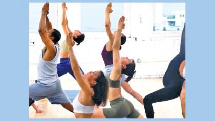 Yoga classes lower   blood pressure