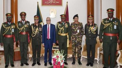 Zambian army commander visits President