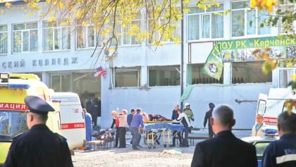College assault kills 18 in Crimea