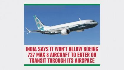 Bangladesh joins nations to ban Boeing737 Max 8