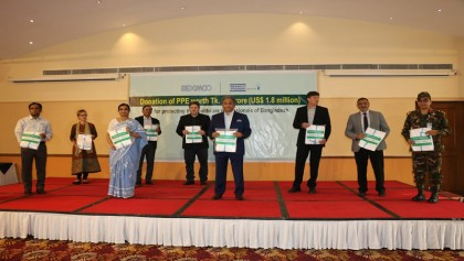 COVID-19 pandemic: Beximco gives Tk15cr PPE to healthcare professionals