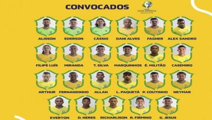 Brazil announce squad for Copa America