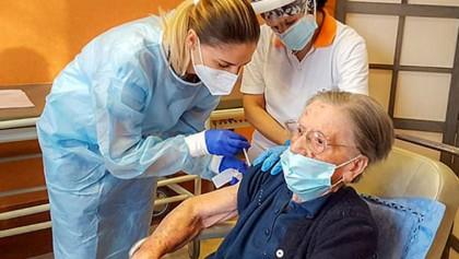 Italian 108-year-old woman gets Covid-19 vaccine