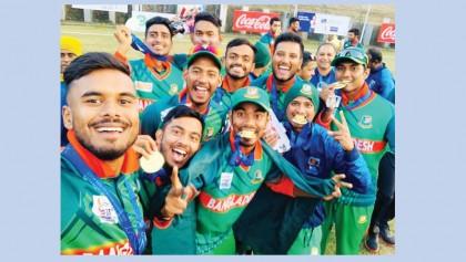 Bangladesh bag men's cricket gold