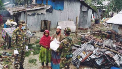 PM narrates in Guardian article how Bangladesh fought twin perils of Covid-19 and cyclone