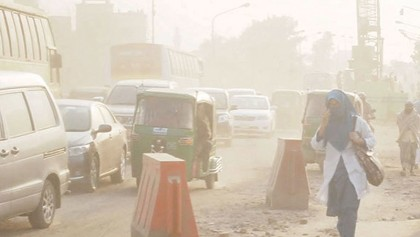 Dhaka's environment polluted from diverse fronts