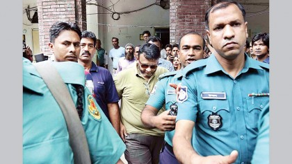 Tribunal sends  ex-Sonagazi OC to jail rejecting bail plea